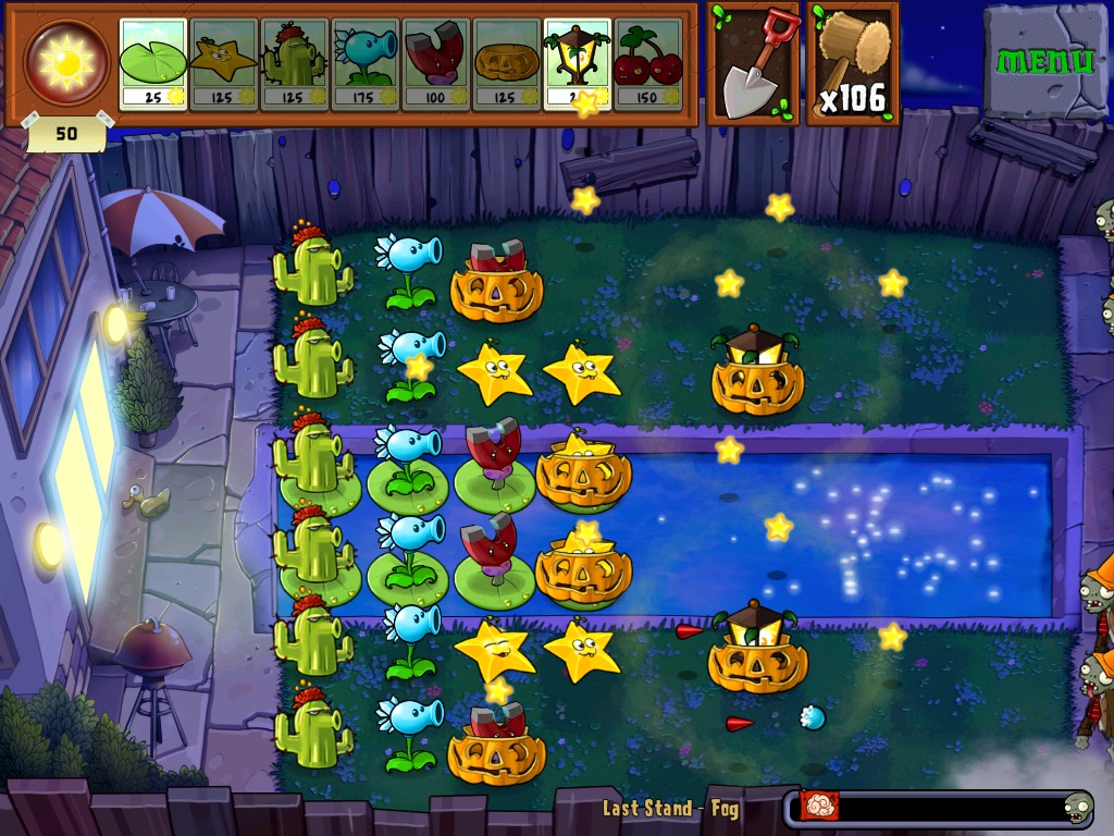 Last Stand Fog Plants Vs Zombies Wiki Fandom Powered