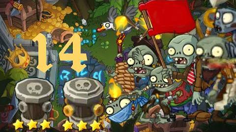 PvZ Online - Adventure Mode - Treasure Island 14