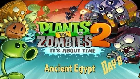 Plants vs Zombies™ 2 - Walkthrough - Ancient Egypt - Day 8