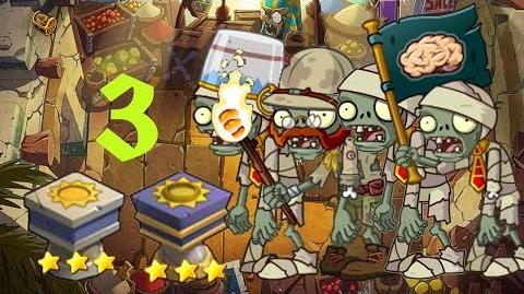 PvZ Online - Adventure Mode - Egyptian Market 3