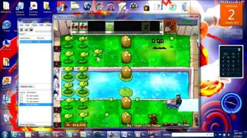 PvZ Hybrid Minigames 3 Big Trouble Little Bobsled