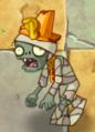 Conehead Mummy's first degrade (PvZ2IAT)