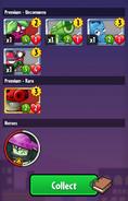 Player receiving Nightcap from his hero pack