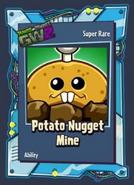 Pvzgw2 potato nugget mine sticker