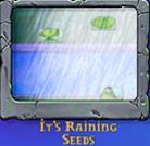 It's raining seed