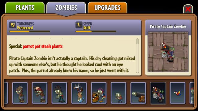 File:Pirate Captain Zombie Almanac Entry Part 2.png