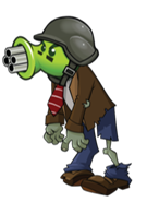 File:Gatling Pea Zombie.png