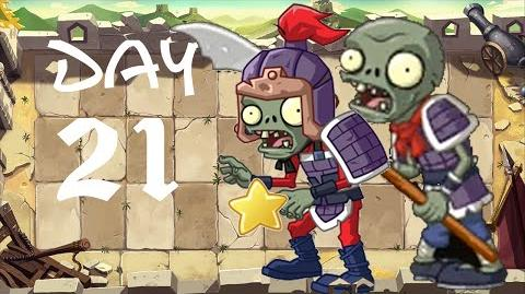 PvZ All Stars - Great Wall of China Day 21