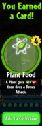 Earning Plant Food