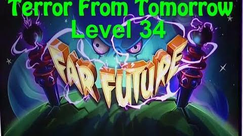 Terror From Tomorrow Level 34 Plants vs Zombies 2 Endless