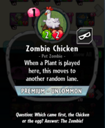 Chicken description