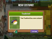Getting Toadstool's First Costume