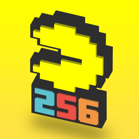 File:PAC-MAN 256 - Endless Arcade Maze Square Icon.png