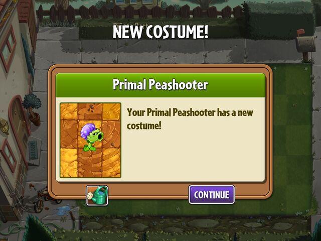 File:Getting Primal Peashooter's Second Costume.jpg