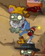 Prospector Zombie standing