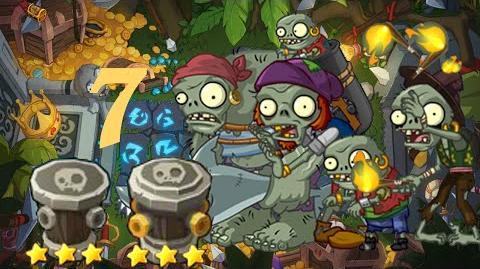 PvZ Online - Adventure Mode - Treasure Island 7