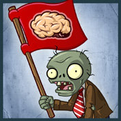 PvZ2 Flag Zombie