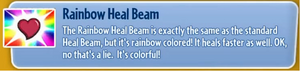Rainbow Heal Beam