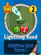 Receiving Lightning Reed
