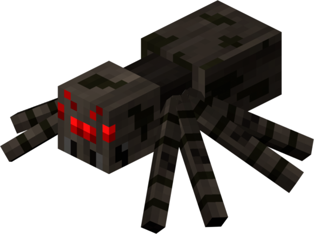 File:Minecraft-Spider.png