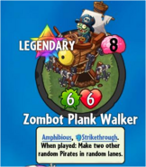 Receiving Zombot Plank Walker