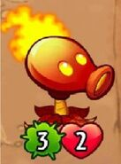 Fire-peashooter in gameH
