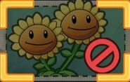 Cannot use Twin Sunflower