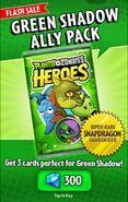 Advertisement for GreenShadowAllyPack