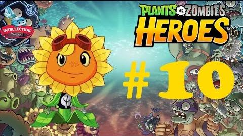 Plants vs Zombies Heroes Part 10 - PM 5 - Beware the Bewitching Zombie - Solar Flare