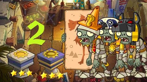 PvZ Online - Adventure Mode - Egyptian Market 2