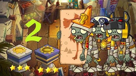 PvZ Online - Adventure Mode - Egyptian Market 2