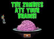 Neon Conehead eating brains