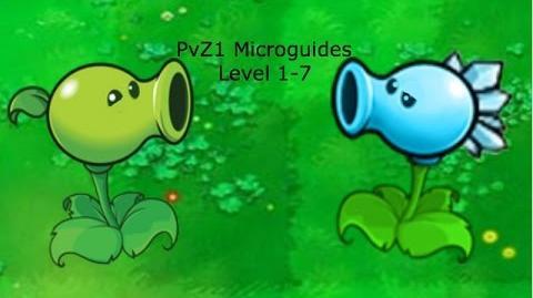 PvZ1 Microguides - Level 1-7