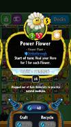 Power Flower stats