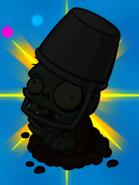 Buckethead silhouette