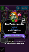 Line Dancing Zombie Description