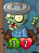 Trash Can Zombie Heroes without trash can