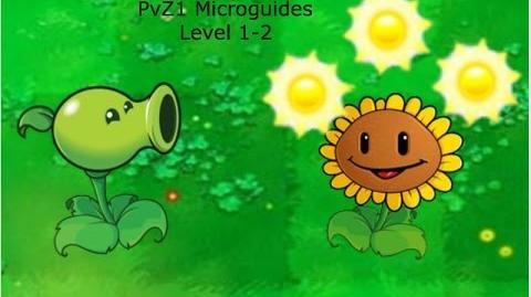 PvZ1 Microguides - Level 1-2
