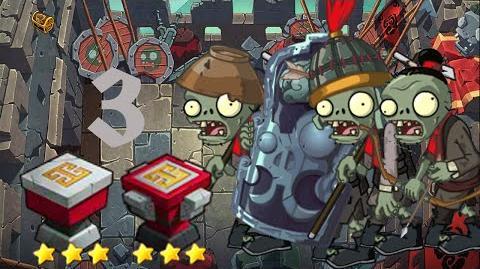 PvZ Online - Adventure Mode - Battle of the Great Wall 3