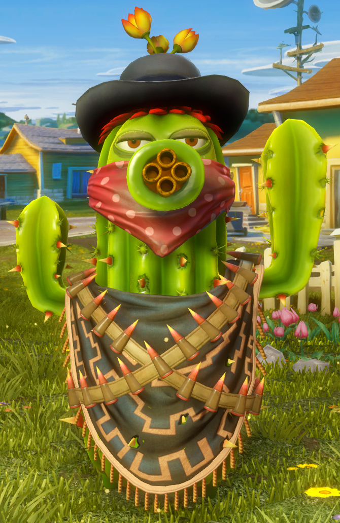 Bandit Cactus Plants Vs Zombies Wiki Fandom Powered