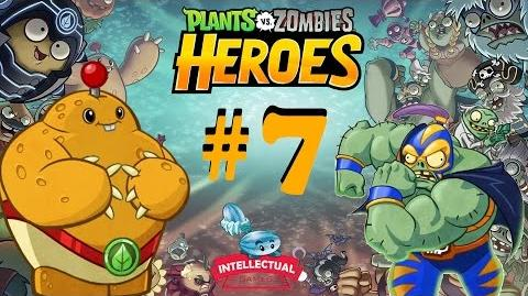 Plants vs Zombies Heroes Part 7 The Smash in The Great Cave Raid