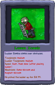 Almanac Card Ladder Zombie