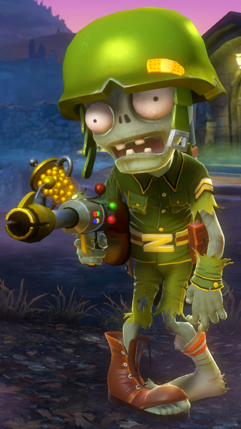 Foot Soldier Plants Vs Zombies Wiki Fandom Powered By