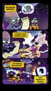 Impfinity comic words