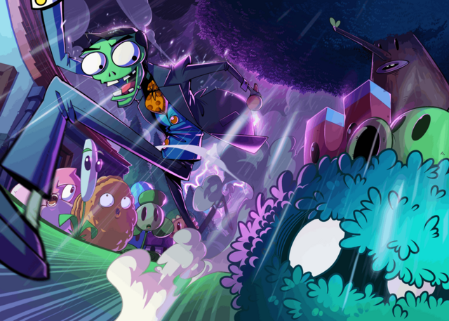 File:Plants Vs. Zombies All Stars New Loading Screen.png