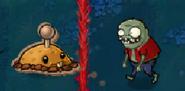 Cardboard Potato Mine vs. Imp