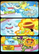Ice Zombie Cometh ending comic strip