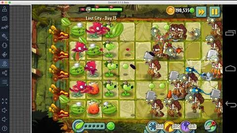 Plants vs Zombies 2 - Lost City Day 13