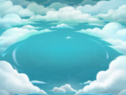 Sky City World Map Background