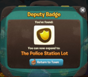 Deputy Badge got